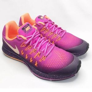 Nike Zoom Pegasus Water Repellent Running Shoes